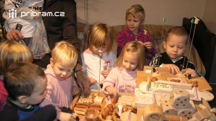 Hornické Vánoce jsou lákadlem pro děti