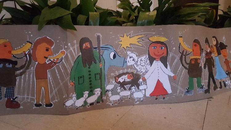 Na Svatou Horu dorazilo pro Ježíška více jak 140 originálních a jedinečných vánočních obrázků