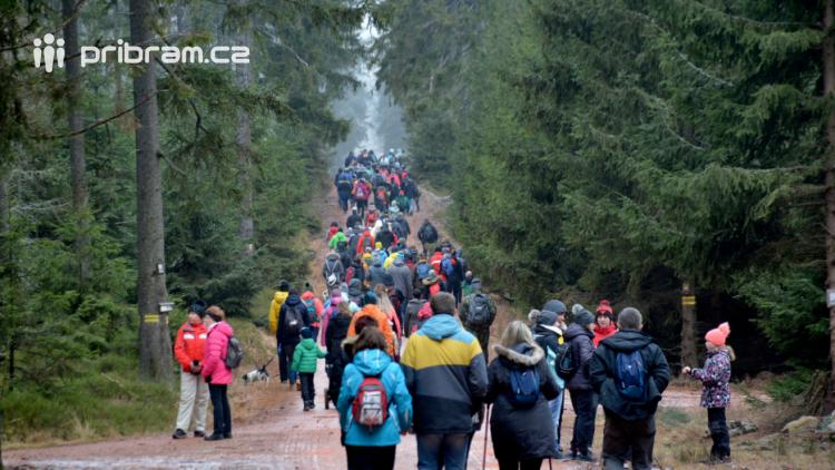 Výstup na Pražák zažil v sobotu absolutní rekord