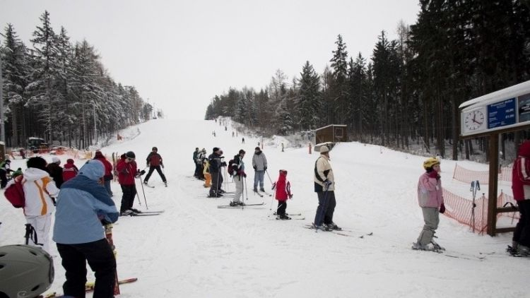 Ve středočeských areálech jsou výborné podmínky k lyžování