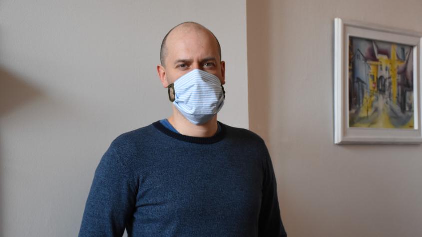 Martin Buršík: Použité roušky zabalte a teprve potom uložte do pytlů se směsným odpadem