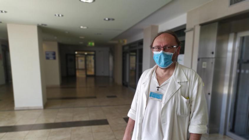 Nejhorší je nejistota, říká lékař, který se stará o pacienty s koronavirem