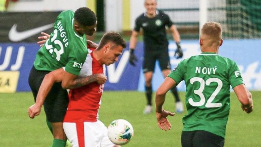 Fotbalisté Slavie zvítězili nad Příbramí 1:0