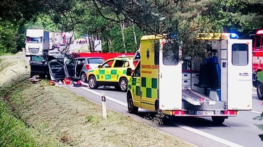 Páteční nehoda byla na Příbramsku letos první, při které došlo ke smrtelným zraněním