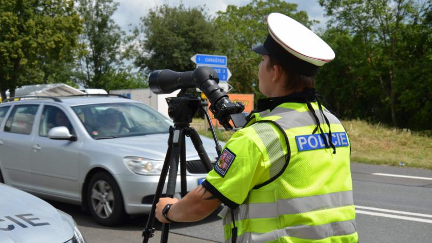 Dopravní bezpečnostní akce bude celý víkend. V pátek se policisté zaměřili na Strakonickou