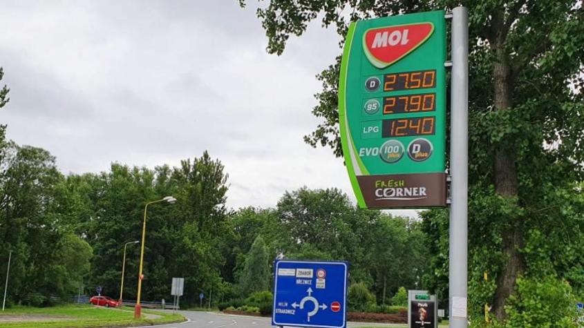 Zdražování pohonných hmot pokračuje, oproti minulému týdnu zhruba o dvacetník