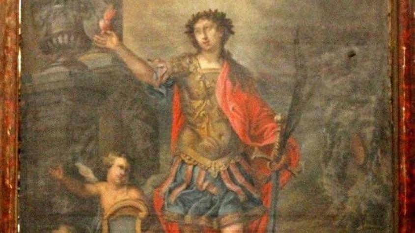 Obraz březnického patrona objevený na ochozu kostela bude opět odhalen veřejnosti
