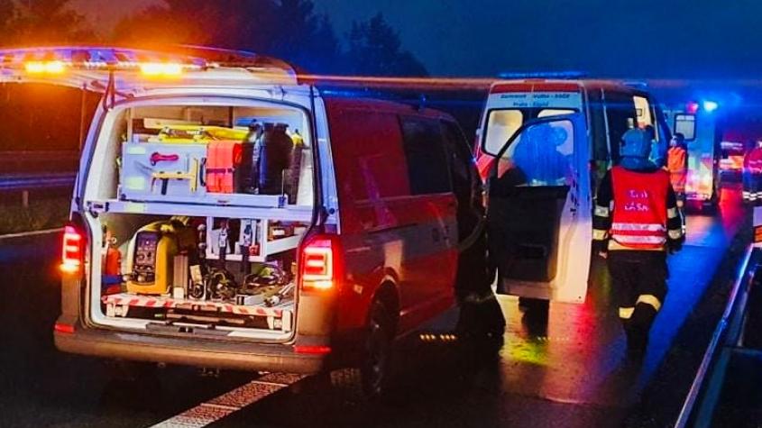 Hasiči vyjížděli k dopravní nehodě na dálnici D4. Během několika okamžiků došlo k další