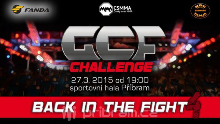 Dnes budeme soutěžit o 2 vstupenky na GCF CHALLENGE: Back in the Fight 4!