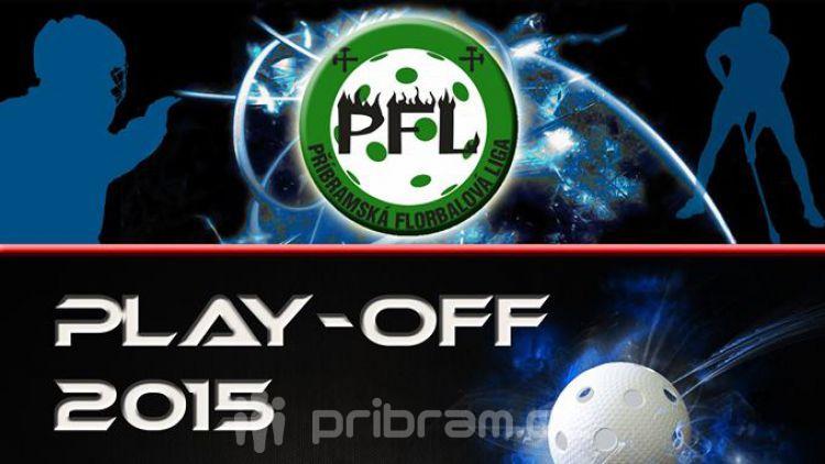 Play off floorbalové ligy začíná již zítra