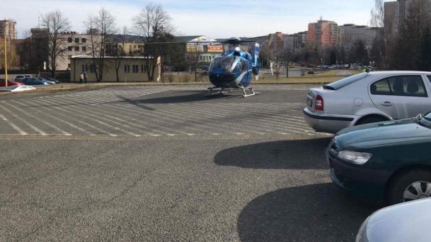 Příbram dočasně povoluje parkování na heliportu