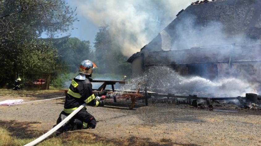 Rožmitálská zásahová jednotka postoupila do finále ankety Dobrovolní hasiči roku 2020