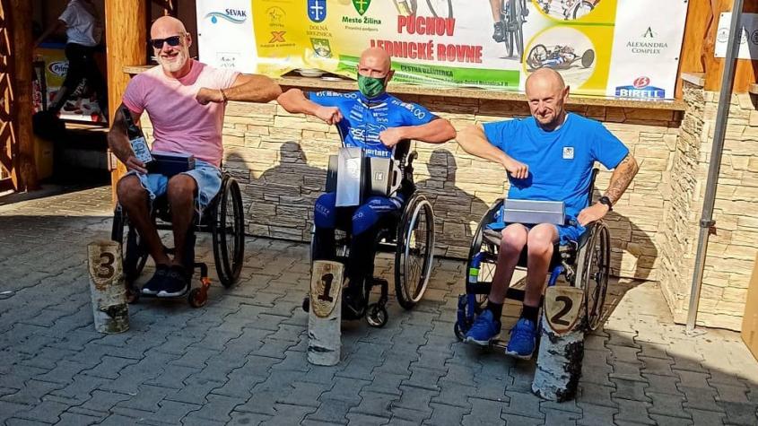 Našel sílu žít s handicapem, po úrazu si Tomáš Mošnička úspěchů cení víc
