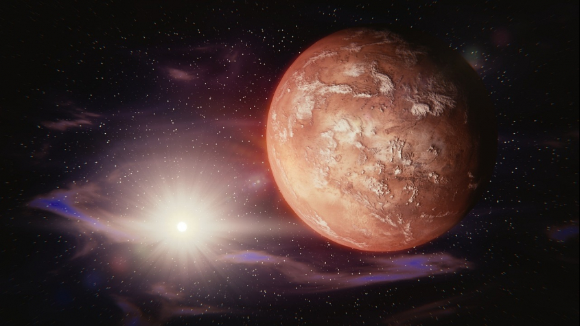 V noci na středu nastane opozice Marsu se Sluncem