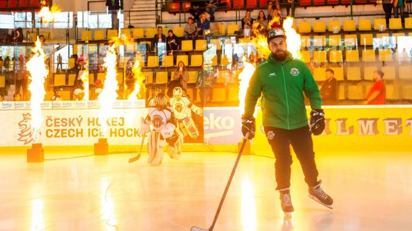 Trénink na ledě a utkání nic nenahradí, říká trenér Jan Chudý