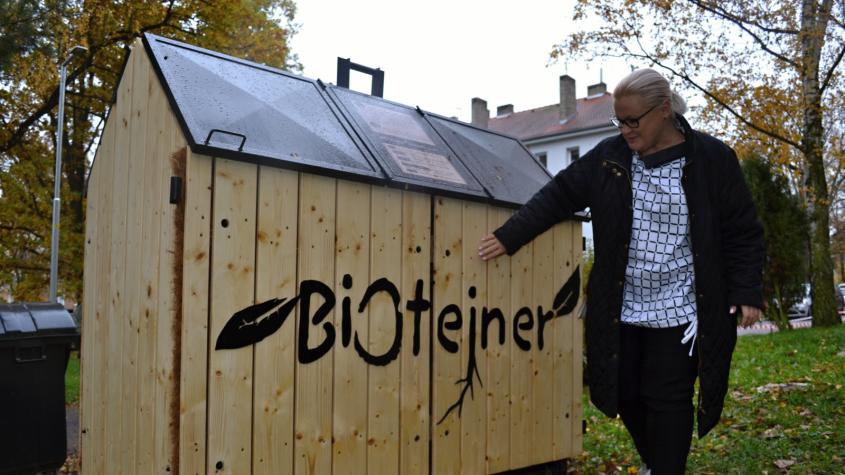 Město Dobříš zajistilo pro své občany další BIOtejnery
