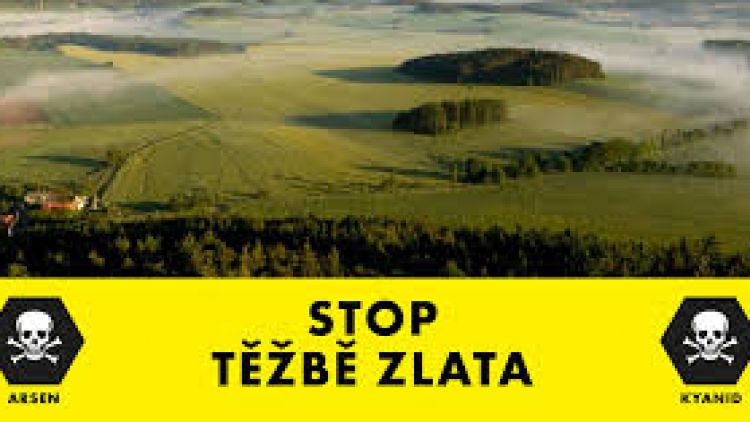 Senát podpořil dodržení zákazu těžby zlata v Česku