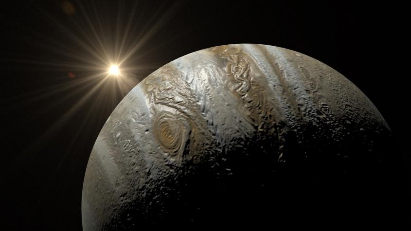 Nastává těsná konjunkce Jupiteru a Saturnu, úkaz staletí