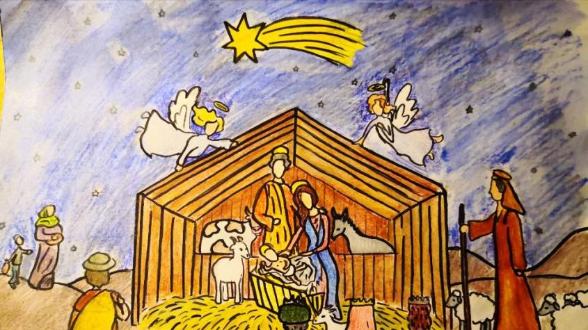 """Obrázky pro Ježíška opět připutovaly na Svatou Horu. Letošním mottem v době koronakrize je """"Vše se v dobré obrátí."""""""
