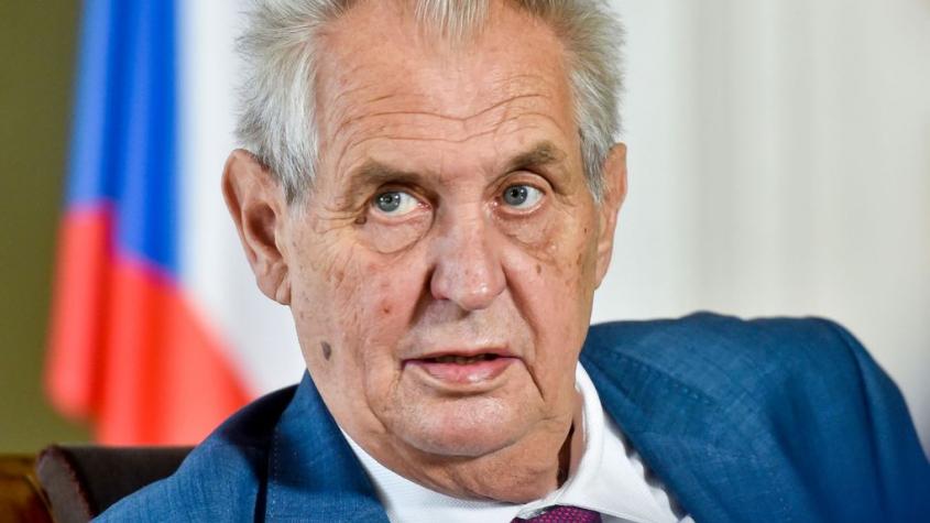 Podmínkou pro jmenování premiérem je výhra ve volbách, řekl Zeman