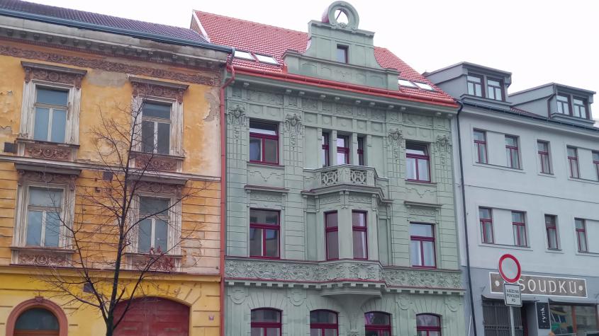 Rekonstrukce části domu U Podařilů je téměř u konce