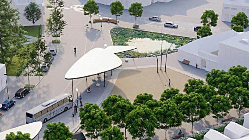 V Dobříši nechali vypracovat studii na modernizaci Mírového náměstí