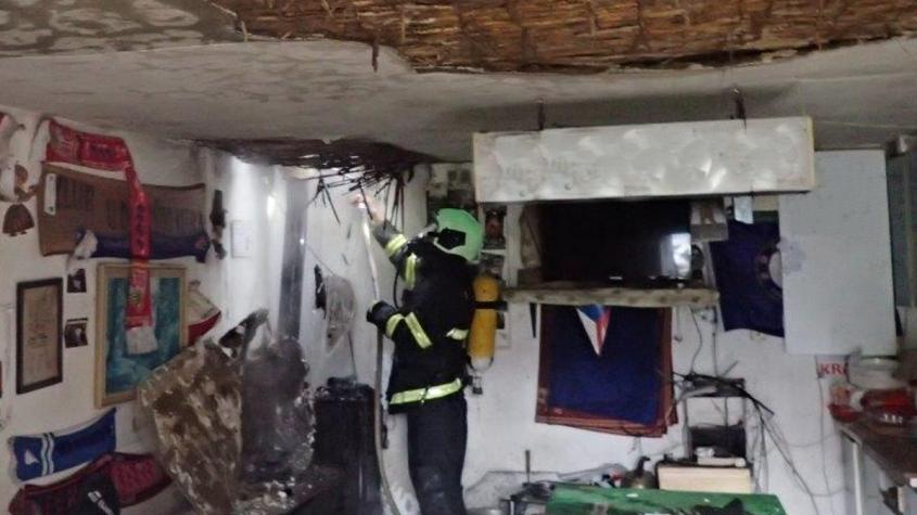 Požár garáže v Zaječově byl uhašen moderními prostředky