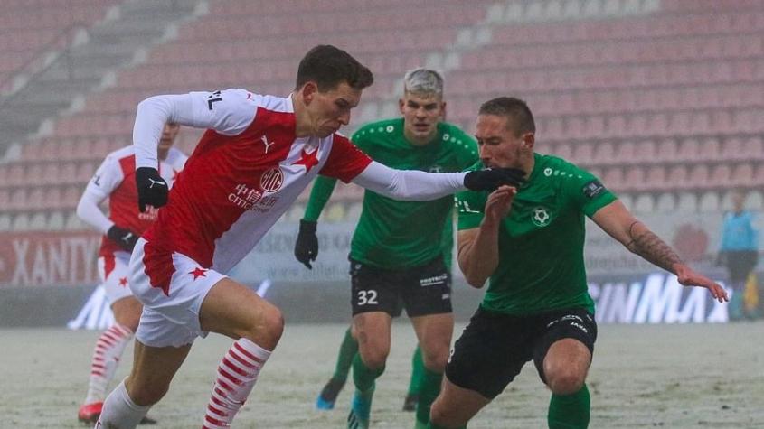 Příbram – Slavia 3:3. Hosté si dali dva vlastní góly