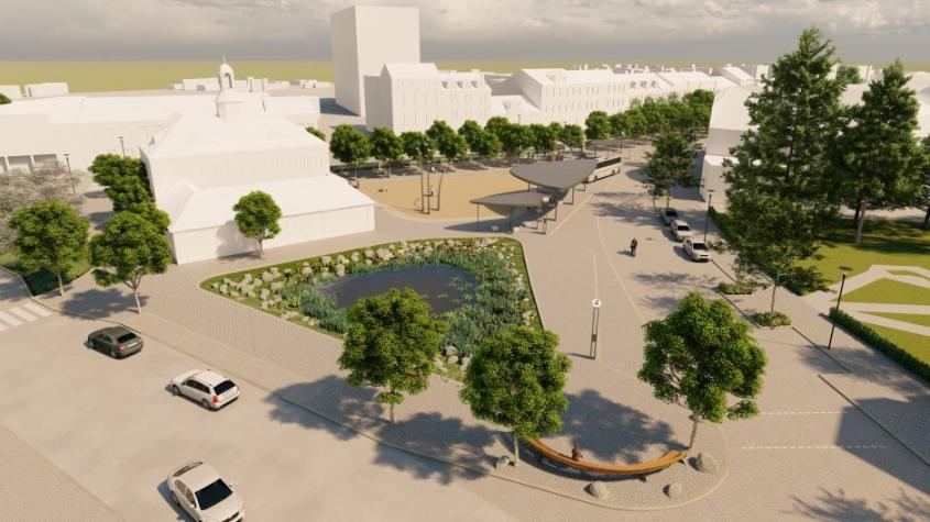 Dobříš chce diskutovat s veřejností o podobě Mírového náměstí
