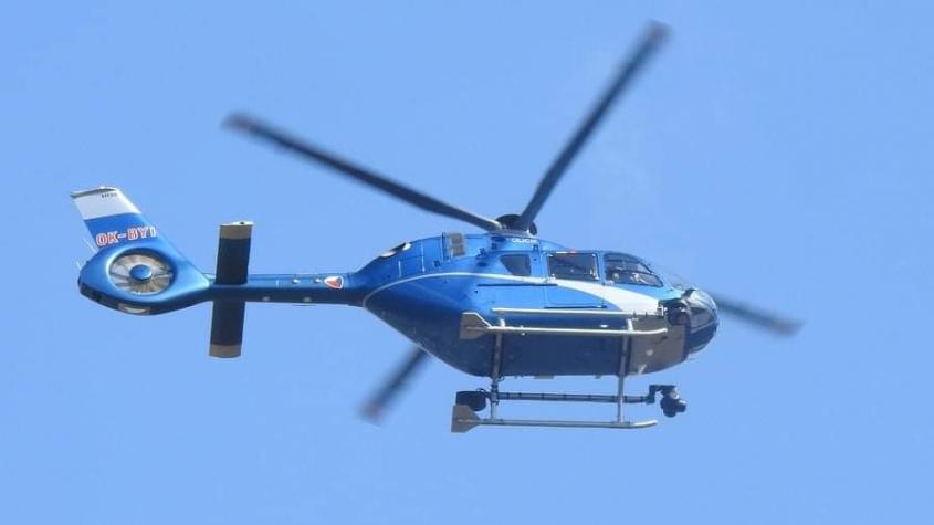 Policisté pátrali po ztracené seniorce, na pomoc vzlétl i vrtulník