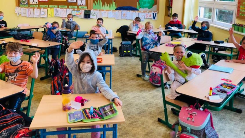 Od 12. dubna by se měl do škol vrátit první stupeň a předškoláci