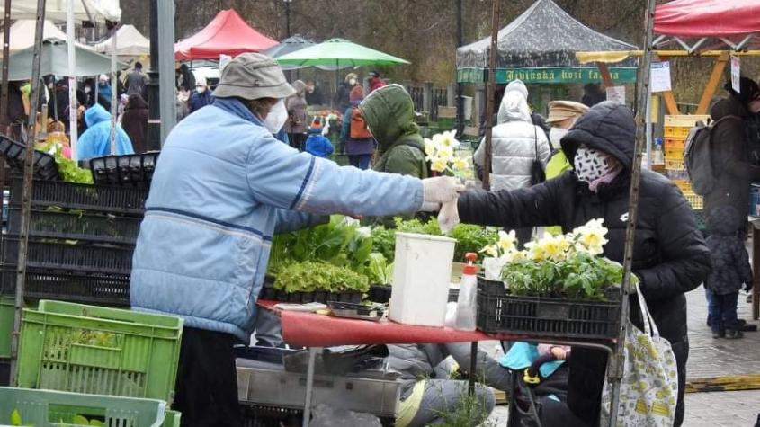 Do Příbrami se vrátili trhovci. I přes nepříznivé počasí dorazily desítky lidí