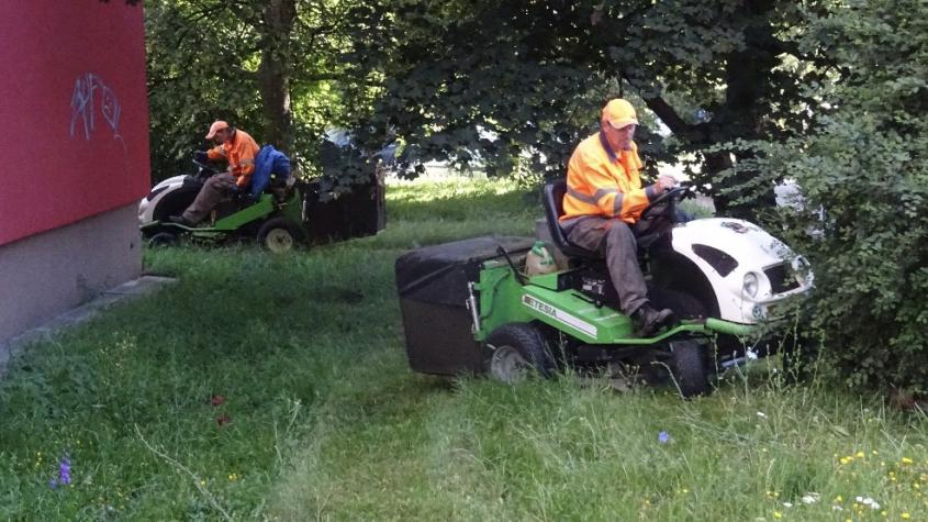 V Příbrami začíná plošné sekání trávy