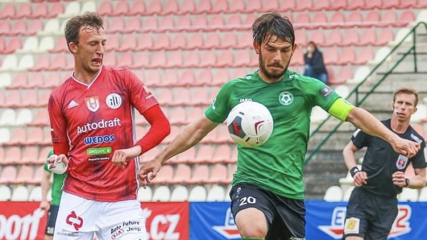 Fotbalisté Příbrami prohráli s Budějovicemi a vzdaluje se jim záchrana v lize
