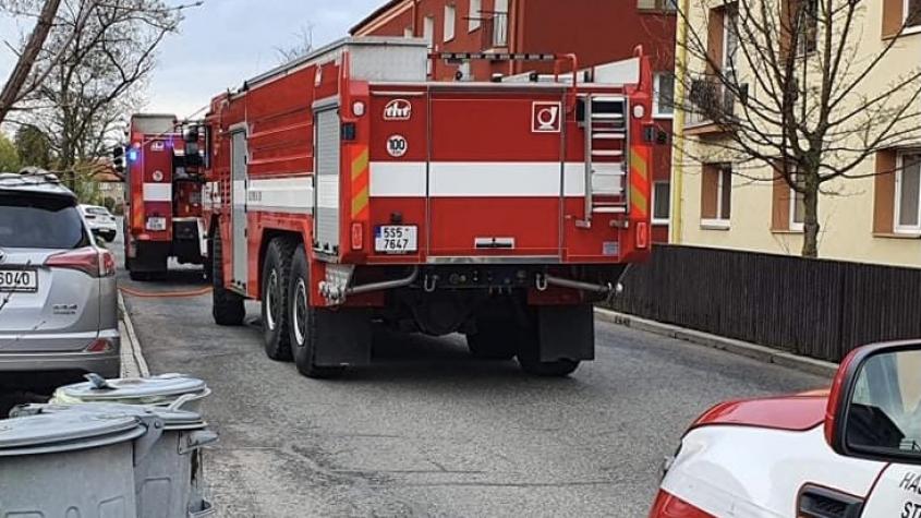 Hasiči vyjížděli k požáru kuchyně, nikdo se nezranil
