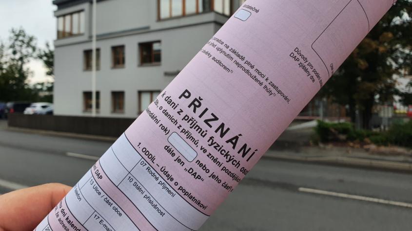 Dnes je poslední den pro podání daňového přiznání papírově