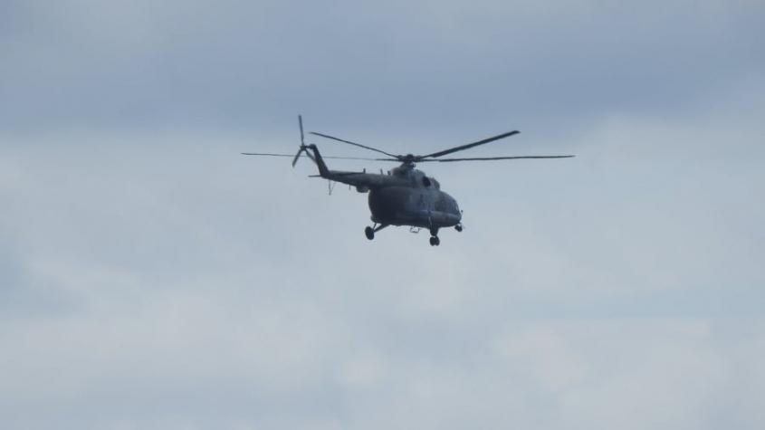 Nad Příbramí létal vojenský vrtulník, měřil zbytkovou radiaci z Černobylu