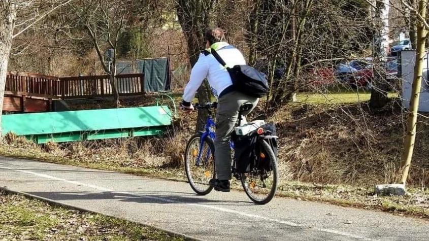 Pojďte se s námi projet po městě a jeho okolí, zve na společnou cyklo vyjížďku místostarosta Buršík