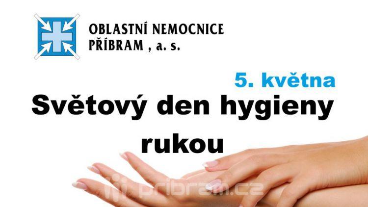 Víte, jak si správně umýt ruce. V úterý v nemocnici se to dozvíte