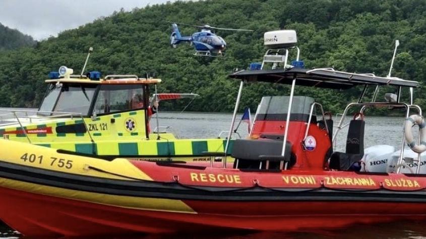 Vodní záchranná služba na Slapech má za sezonu asi 70 výjezdů