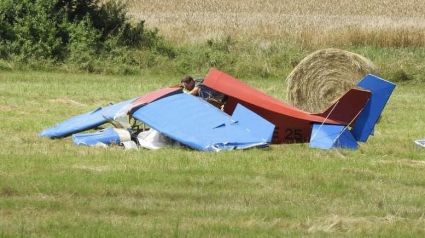 Na Příbramsku havarovalo letadlo, pilot nepřežil
