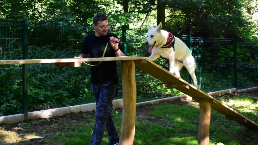 Agility psí park byl otevřen veřejnosti