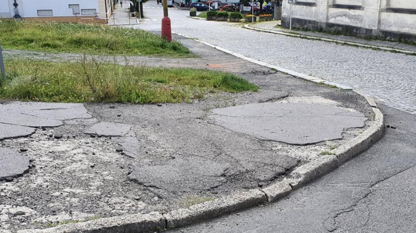 Příbram investuje do oprav chodníků přibližně 2,5 milionu korun