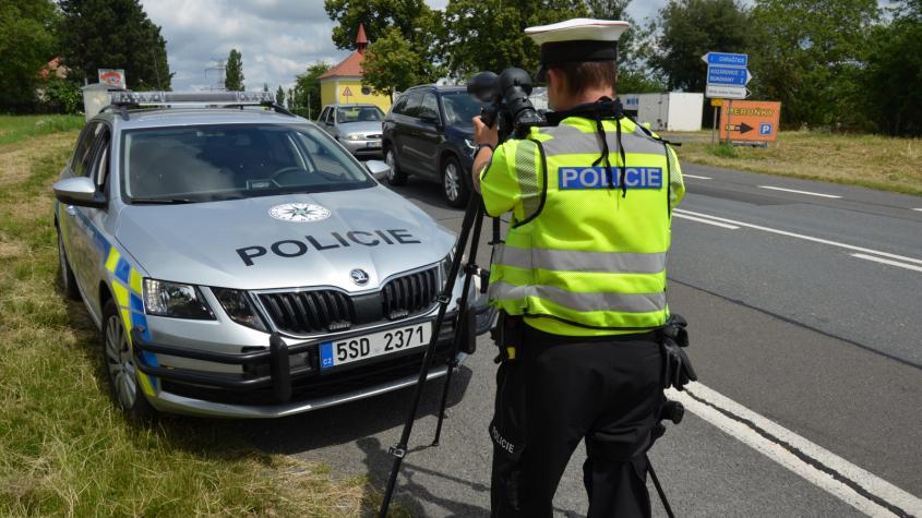 Policie během dvou dnů v kraji zkontrolovala stovky řidičů. Téměř každý čtvrtý se dopustil přestupku