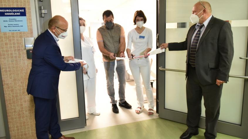 Nová neurologie příbramské nemocnice nabídne komfort hned dvaceti pacientům