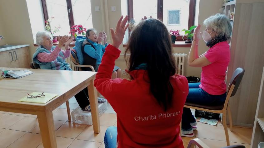 Deset let v Příbrami: Denní stacionář pomáhá lidem s tréninkem paměti a dalších dovedností