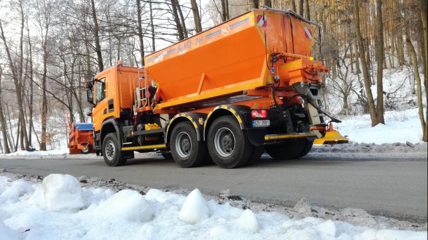 Středočeský kraj chystá revizi okruhů zimní údržby silnic