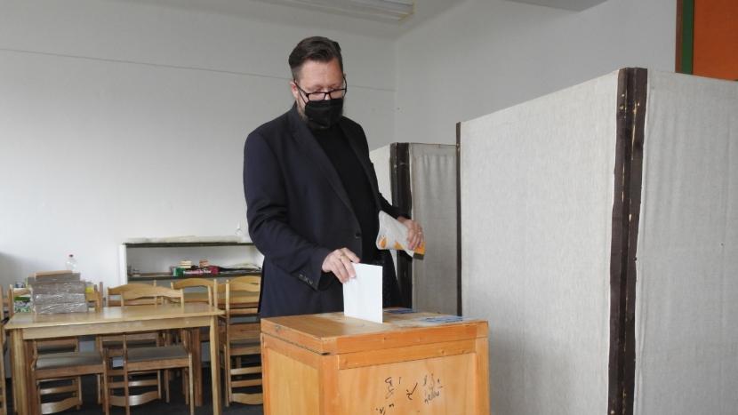 Jít volit je morální povinnost každého z nás, říká starosta Konvalinka