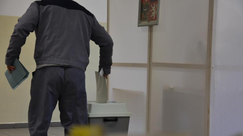 V příbramské věznici odevzdalo svůj hlas 222 odsouzených