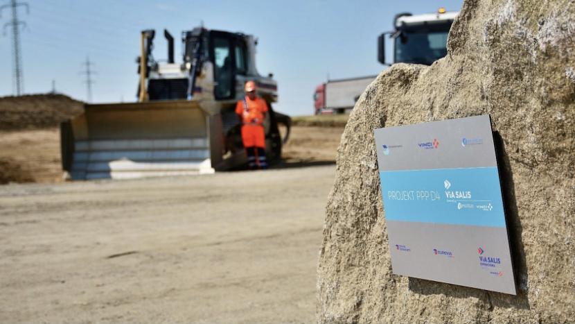 Na podzim začnou na dálnici D4 stavební práce, vznikne i 39 mostů